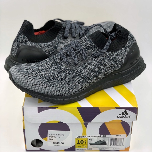 16a56173f Adidas UltraBOOST Uncaged Triple Black Sz 10.5